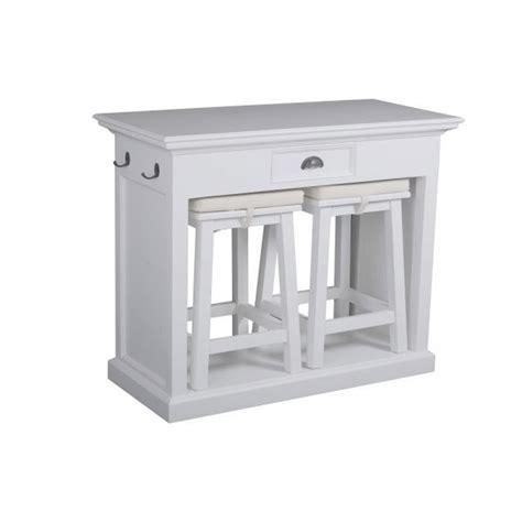 table bar de cuisine table haute avec tabouret pour cuisine dootdadoo com