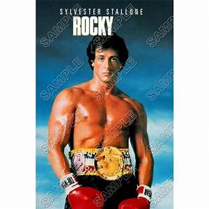 Personalized Iron On Transfers Rocky Balboa Stallone T