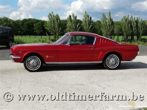 Ford Mustang Fastback For Sale by Classic 1966 Ford Mustang Fastback For Sale 6989 Dyler