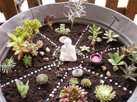 Mini Jardines De Cactus by El Silencio Y La Locura Mini Jardines