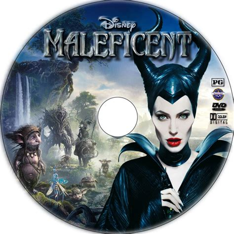 Maleficent DVD Cover 2