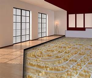 Chauffage Au Sol : chauffage hydraulique au sol conseils en plancher et ~ Premium-room.com Idées de Décoration