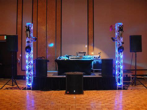 simple dj lighting setup dj medium setup dj setups pinterest dj