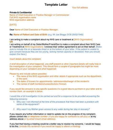 write  professional complaint letter