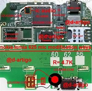 Nokia 1203 Mic Jumper Diagram