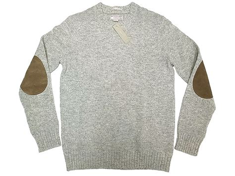 Wallace & Barnes By J.crew Shetland Sweater Gray-mix スウェード