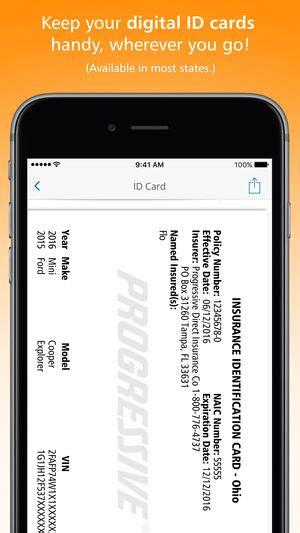 apple iphone insurance progressive on the app