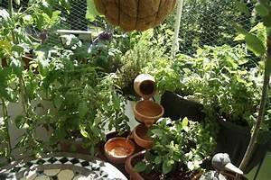 Balkon Brunnen Selber Bauen : mini teich oder solarbrunnen ~ Frokenaadalensverden.com Haus und Dekorationen