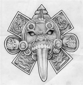aztec calendar face by KA5TR0 on DeviantArt