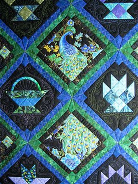 peacock quilt pattern 349 best images about peacock quilts on