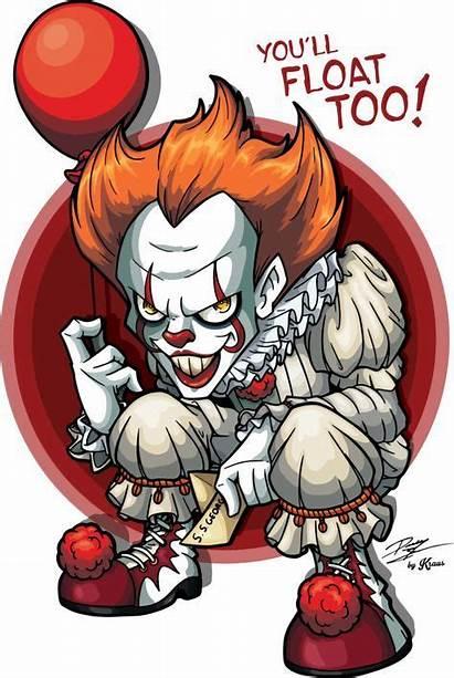 Pennywise Clown Deviantart Dancing Illustration Clipart Halloween