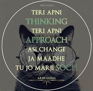 Best 25+ Punjab... Solid Attitude Quotes