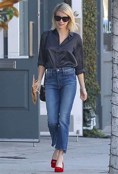 Jeans Mother Insider Fray Step Crop Hands