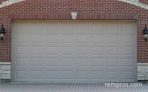 car garage door price sectional 2 car garage door