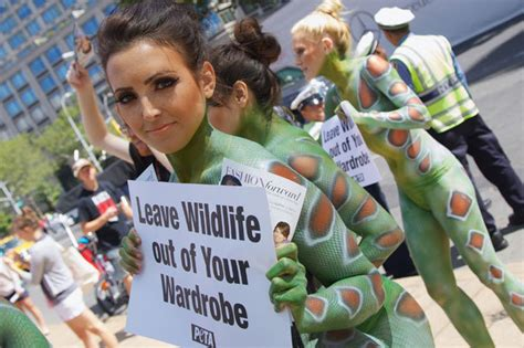 SEXY PICS Topless Activists Wear JUST Body Paint And