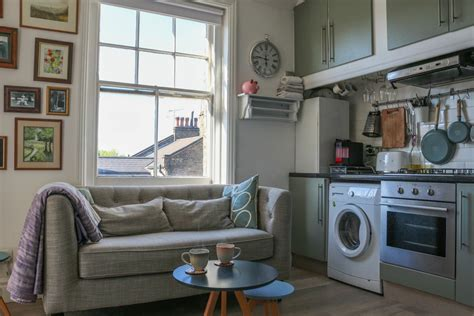 square foot small london flat  apartment therapy