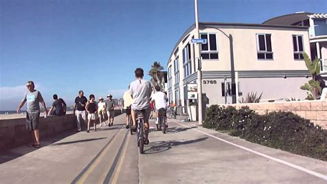 San Diego Mission Beach Boardwalk Bike Cam Jolla