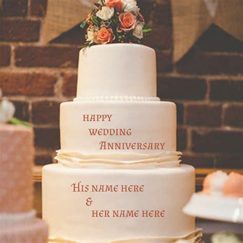 wedding anniversary wishes cake images