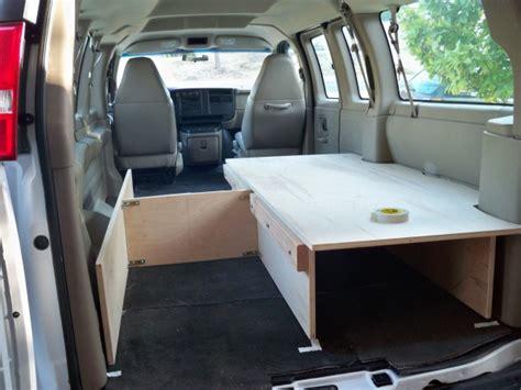 cargo van  camper van  ideas supertopo rock