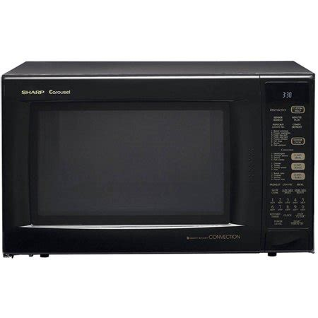Sharp Microwave Ovens Countertop by Sharp R930ak Carousel Countertop Convection Microwave