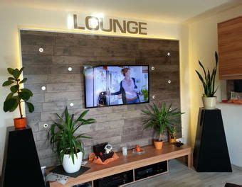 Wohnwand Für Große Fernseher by Wohnwand Tv Wand Selbst Gebaut Teil 1 Laminat Tv Wand