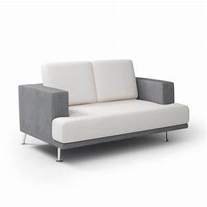 modern gray sofa 3d model cgtradercom With couch sofa 3d model