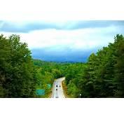 Nature Landscape Road Forest Sign Vermont