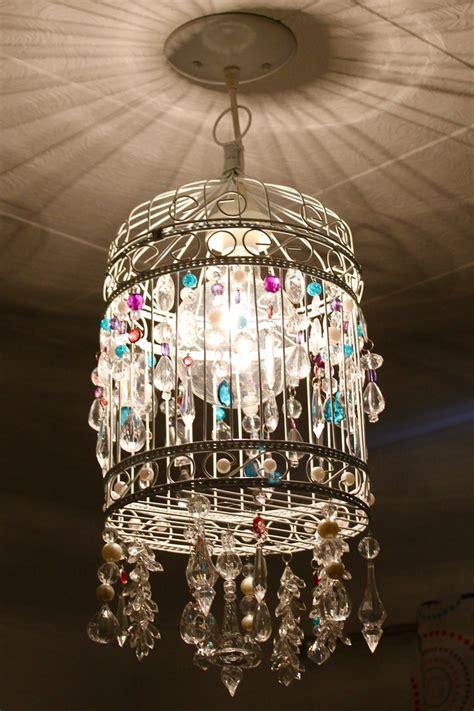 birdcage chandelier jacey s room redo