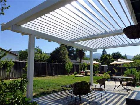 vinyl adjustable patio cover design ideas pictures