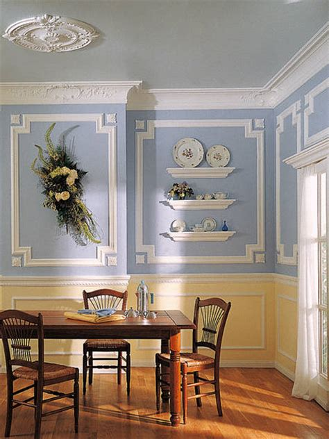 ekena millwork decorating ideas for dining room walls house