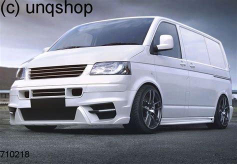 front splitter bumper lip spoiler valance add on magnus ii vw t5 only for transporter