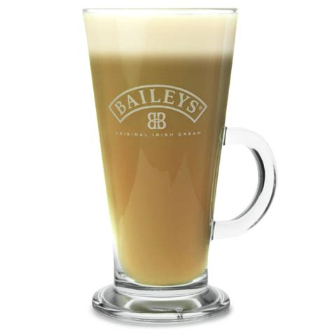 baileys latte glasses oz ml drinkstuff