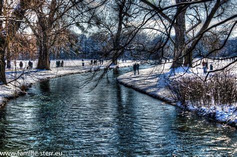 Englischer Garten In Winter by Hdr Spielereien Englischer Garten Im Winter Feb 2013