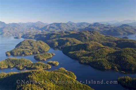 Used Marine Parts Vancouver Island by Aerial Broughton Archipelago Northern Vancouver Island