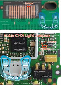 Nokia C101 Light Problem Solution Jumpers Tested 100