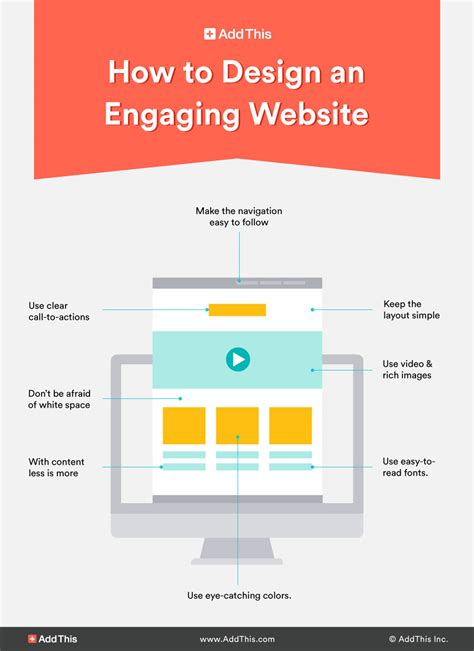 design your website how to create an engaging website design addthis