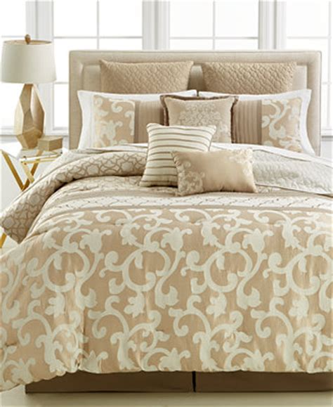 closeout parkview  pc comforter set created  macys bed   bag bed bath macys