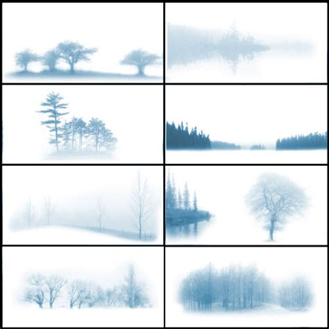 10 Sets Of Free Fog And Mist Photoshop Brushes