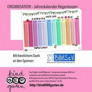 Regenbogen 7 Farben : jahreskalender in regenbogen farben mit bildern ~ Watch28wear.com Haus und Dekorationen