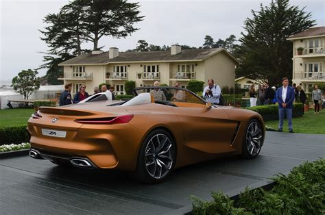 live of bmw concept z4 at pebble