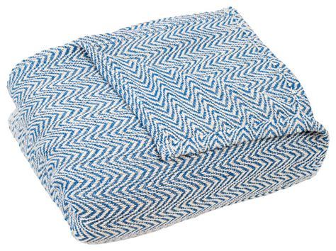 100% Egyptian Cotton Chevron Blanket, Blue, Full/queen Instructions On How To Make A No Sew Fleece Tie Blanket Can I Wash And Dry My Electric Heated Underblanket Knot Baby With Bernat Yarn Are Blankets Ok During Pregnancy Best Brands Simple Quilted