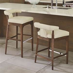 Nelson, Leather, Bar, Stools