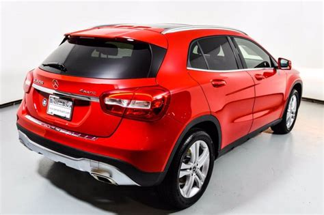 Complete the form below to get a quick response. Certified Pre-Owned 2018 Mercedes-Benz GLA 250 4MATIC SUV   Jupiter Red U17405
