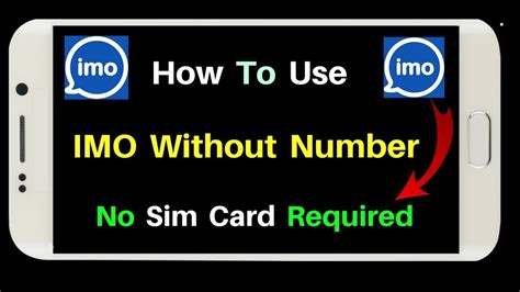 how to use imo without phone number create unlimited imo