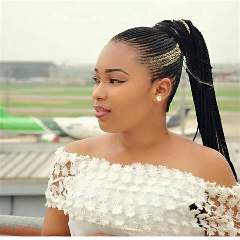 15 Lovely Ghana Braids Updos Cornrows And Jumbo Or