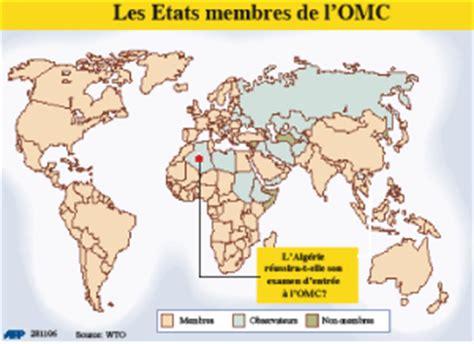 siege de l omc le maroc pousse l algérie vers l omc l 39 economiste