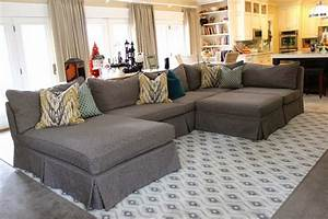 Oversized sectional sofa cover awesome homes super for Super comfortable sectional sofa