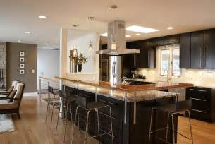 Kitchen Islands Designs With Seating Open Kitchen Designs
