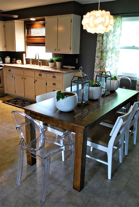 diy minimalist dining table diy any of these 15 small dining room tables for your home