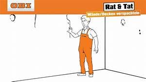 Wie Streicht Man Eine Decke : decke und wand spachteln verspachteln anleitung rat tat youtube ~ Buech-reservation.com Haus und Dekorationen